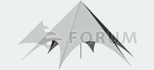 Partyzelt Forum Delta