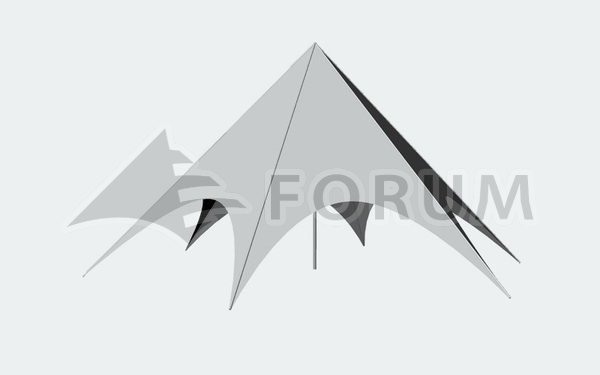 Vermietung von Partyzelten Forum Delta